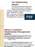 Customer Relationship Management Lecture1