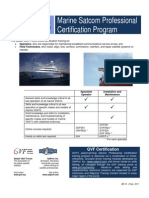 BR-16 Marine Certification Paths