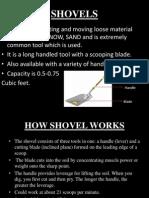 Final Seminar on shovels