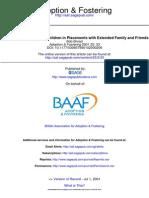 Adoption & Fostering 2001 Broad 33 41