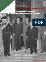 La politica estera italiana raccontata da Palazzetto Venezia