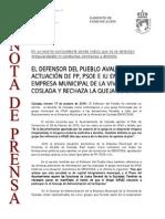 141017 NP- El defensor del pueblo avala la actuación del A….pdf