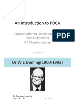 An Introduction to PDCA