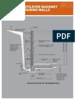 21359 Fir Cantilever Masonry Retaining Wall Brochure 2014