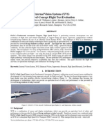 External Vision Systems (XVS) Proof-of-Concept Flight Test Evaluation