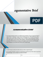 Argumentative Brief