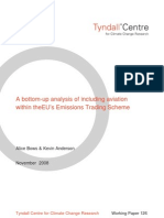 7803647 a Bottomup Analysis of Including Aviation Within the EUs Emissions Trading Scheme