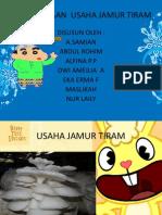 PERENCANAAN  USAHA JAMUR TIRAM.pptx