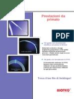 Catalogo fili guida Seldinger per interventistica vascolare ed extra vascolare