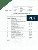 Exhibit List Veterinary Malpractice Case