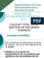CALIDAD TOTAL EN LA DIRECCIÓN DE RR. HH2.ppt