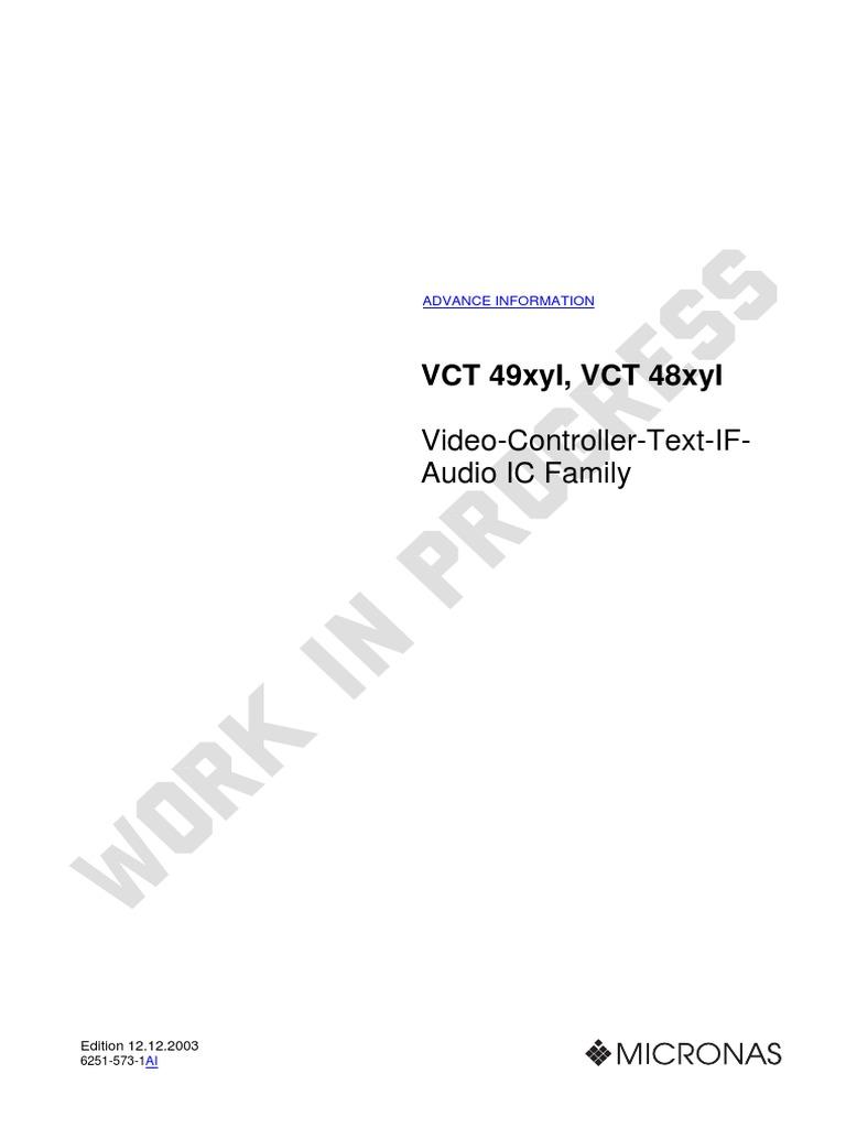 Vct49xyi Spec 200312121 Analog To Digital Converter Random Com Schematics Noise Generation Pseudo White Pic 12f675 Access Memory
