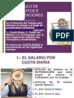 Calculo de Finiquitos e Indemnizaciones .ppt