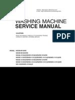 ServiceManuals LG Washing WD1015FB WD-1015FB Service Manual
