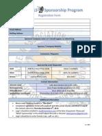 2014 15 Sponsorship Form PDF