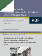 Andrea Sato - La organización de trabajadores en la Historia de Chile contemporáneo