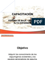 CAPACITACIÓN DE ESPUMAS Y SISTEMAS DE ESPUMAS.pptx