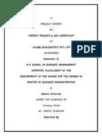 Import Process & Odc Operation