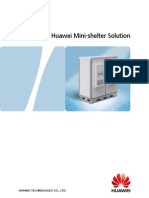 Huawei Mini-shelter Solution