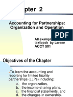 Chapter 2 Accounting for Partnerships