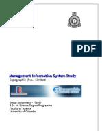 Management Information System Study