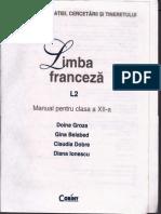 Manual de Limba Franceza Clasa a XII a  L2
