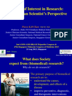 Conflict of Interest in Biomedical Research - The Clinician Scientist's Perspective