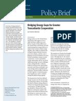 Bridging Energy Gaps for Greater Transatlantic Cooperation