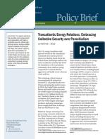 Transatlantic Energy Relations