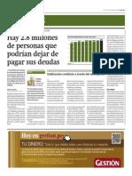 Hay 2.8 millones que podrían dejar de pagar sus deudas_Gestión 17-10-2014.pdf