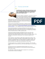 Career in Insurance Sector