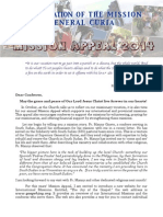 Mission Appeal - October 2014 [ENGLISH]
