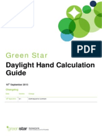 Green Star - Daylight Hand Calculation Guide - Draft for Comment 2013-09-16