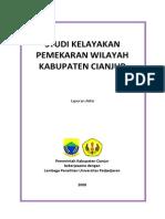 Studi Kelayakan Pamekaran Daerah Cianjur (1)