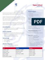 upperschoolprofileforcommonapp 14-15 sr
