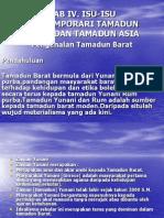Bab IV. Isu-Isu Kontemporari Tamadun Islam Dan Tamadun Asia