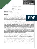 exhibit paper for website