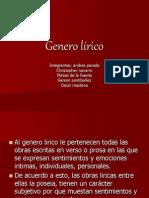 Genero lírico.ppt
