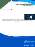 """Análisis de línea base para la planificación, la zonificación y el manejo de los ecosistemas, los bienes y servicios ecosistémicos en el territorio de la """"Asociación de Consejos Comunitarios General Los Riscales de Nuquí."""