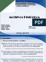 archivos historicos exposición. Norberto.ppt