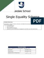 Single Equalities Scheme