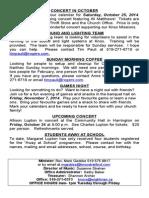Knox Bulletin, Sunday Oct 19