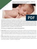 20 ERRORES COMUNES EN FOTOGRAFÍA DE BEBÉS.pdf