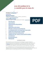 La importancia del análisis de la información contable para la toma de decisiones.doc