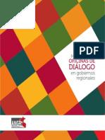 Guía para la conformar oficinas de diálogo en gobiernos regionales