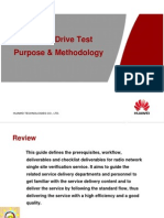 3G SSV DT Purpose Process