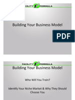 Building Your Business Model(Fitness)
