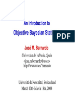 An Introduction To Objective Bayesian Statistics.pdf