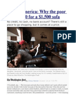 Rental America  Why the poor pay $4,150 for a $1,500 sofa