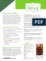 Kenzen Ten4 Factsheet - Spanish